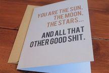 Funny Cards / Niecodzienne karty okazjonalne z zabawnymi hasłami :)