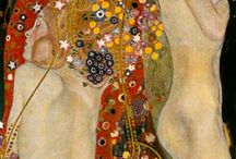 Art - Klimt, Gustav / by Diane Shepherd