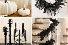 My Halloween wedding ideas/Halloween Decorations