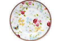 Pip Studio Chinese rose white
