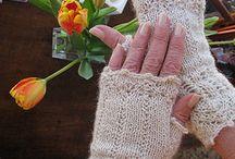 Fingerless Mitts ,Gloves