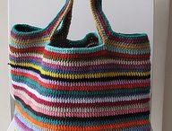 bolsos y carteras a crochet