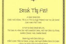 Current Menu 4/2015 / Our menu