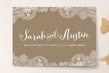 invitations & save the dates / by Dana Miller