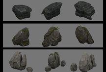 3D Stone / 3D Environment - nature