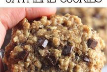 Almon oatmeal cookies