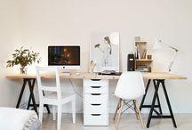 Home office - Escritório em casa / Ideias para decorar um escritório em casa - Home office decorating ideas