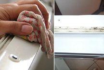 enlever les moisissures des joints du frigo