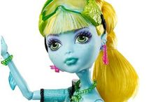 Doll - Fresh Water Lagoona Blue Daughter Of The Sea Monster High 13 Wishes Doll