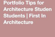 architecture portfolio student