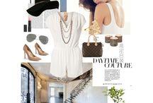 Fashion inspiration  / Polyvore designs.