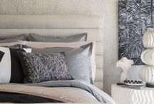 Fine Bedding Collection / Inspired by California's coastal landscape, the Kelly Wearstler Fine Bedding Collection incorporates organic textures, a rich, neutral palette and thoughtful special details. It has an easy elegance that juxtaposes masculine and feminine, raw and refined. / by Kelly Wearstler