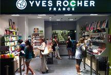 Yves Rocher - negozi / Negozi, showroom e outlet realizzati da Real contract - Shops, showroom and outlet realized by Real contract www.realsrl.it