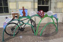 Cool Bike Racks / Interesting bike racks