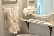 Master Bathroom / by Sandee N Adam Trowbridge