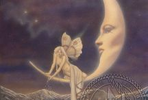 + moon maidens / moon maidens, star women, and other creatures of the night sky / by nyghte shadow