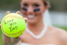 Softball wedding