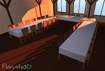 Dekoracje kwiatowe wirtualnych wnętrz 3D / E-usługa Florysta3D daje możliwość dekorowania wnętrz m.in. restauracji, sali bankietowej czy holu hotelowego kompozycjami, które wcześniej stworzyłeś!  Sprawdź niezliczoną ilość kombinacji, to nigdy nie było tak proste. Zobacz wizualizację i podziel się nią ze swoimi znajomymi.