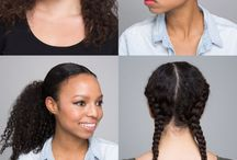 Curly Hair Styles / It's so hard to find hair styles for curly hair! This board shows tutorials and more to help style your awesome curls!
