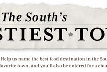 VOTE FOR THE SOUTH'S TASTIEST TOWN / VOTE FOR THE SOUTH'S TASTIEST TOWN SOUTHERN LIVING©