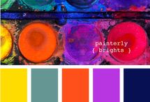 ART: COLOR PALETTES / by Mary Perlow
