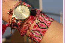 Boho Ibiza Horloges / Heb je deze hippe boho ibiza horloges al gespot in onze shop? Ze zijn zooo schattig , perfect om te combineren met je andere armbandjes. www.armbandonlinekopen.nl