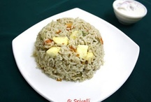 Indian Rice Dishes / by Srivalli Jetti