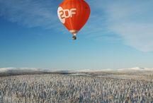 ArcticBalloonAdventure / Winterliches Ballonabenteuer in Lappland zwischen Polarkreis und Nordkap
