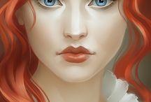 jolies rousse