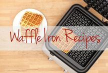 Scrumptious Waffle Iron Recipes / The waffle iron is your weekend best friend, but have no fear – there's more than just waffles on the horizon! Whip up these scrumptious recipes using your beloved waffle iron. / by The Latin Kitchen