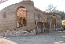 slameno hlinený dom