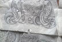modelli su carta sculture