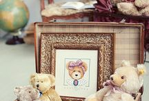 Stuffed animals / Old teddy's