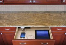 Charging Outlets / Docking Drawer™ offers a family of solutions offers ETL Listed in-drawer electrical outlets.