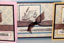Card Ideas - SU Letters From Friends / by Lisa Gundrum