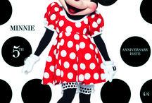 """Minnie in LOVE / Światowej sławy projektanci – wśród nich Dior, Gucci, Miu Miu, Jake & Dinos Chapman dla Louis Vuitton –  stworzyli projekty kultowych uszu Myszki Minnie - ponadczasowej postaci Disneya.  W lipcu, wpływowy magazyn o modzie """"LOVE"""" ogłosił Myszkę Minnie gwiazdą okładki najnowszego  wydania. To pierwsza fikcyjna postać, której udało się zdobyć miejsce na pierwszej stronie tego pisma."""