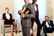 DC\Marvel / by Joseph Morton