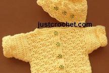 Crochet baby stuff