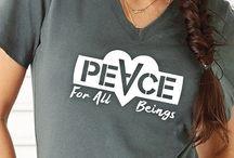 Inspirational Shirts / Vegan shirts