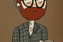 Hipster Inspiration / I love hipster art / by Kaitlin Kehoe