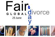 Global Fair Divorce Day - 25 June / Celebrate The First Global Fair Divorce Day on 25 June