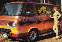 Custom V8 Van
