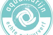 natuurverf Aquamaryn / natuurverf Aquamaryn