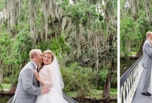 Romantic Couple Portraits / Romantic wedding portraits for Charleston, SC weddings.