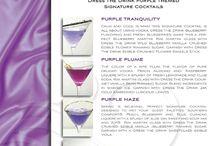 Purple Signature Drink
