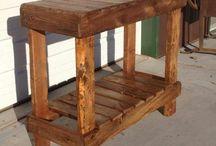 mesas de arrime con palets