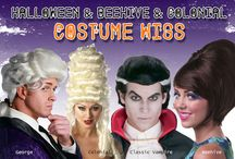 Halloween Costume Wigs : Beehive and Colonial Costume Wigs / Halloween is coming up and everyone is thinking of what should they select and buy. Beehive and colonial costume wigs are mostly considered for the year of the 60's this is a traditional wear that will never go out of fashion. If you are thinking about dressing as a character for this year we offer chic doll wig, Pocahontas wig, and pirate wigs as well. So many selections to choose from! Halloween wigs are the ideal choice for completing your zombie, vampire, or any other wicked costume.