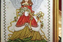 Cross stitch Angel's Unicorn