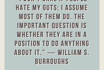 wisdom (William S. Burroughs)
