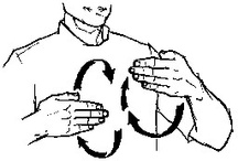 Sign language / by Amy Knutson